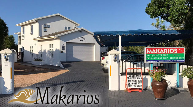 makarios b&b, bed and breakfast langebaan, west coast beach accommodation, langebaan activities, golf course langebaan, langebaan lagoon accommodation